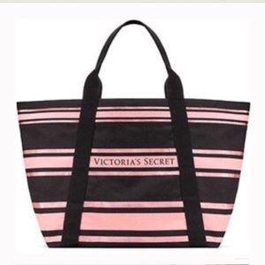 🆕 Victoria's Secret Sparkle Tote NWT